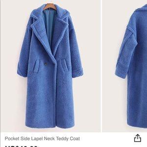 Shein teddy coat. So comfortable! NWOT